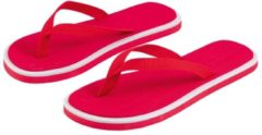 Bellatio Basic - Slippers - Dames - Maat 36-38 - Rood