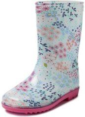 Blauwe Gevavi Boots Tess PVC Blauw Meisjeslaarzen 30