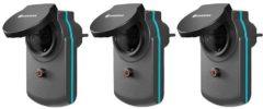 Zwarte Gardena Smart Power Stopcontact Zwart - Set van 3