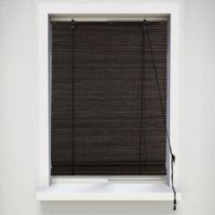 Xenos Rolgordijn bamboe - donkerbruin - 90x180 cm