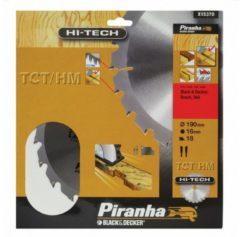 Black & Decker, Skil BLACK+DECKER Piranha Sägeblatt für Kreissäge, TCT/HM 190x16 mm K18 X15370-XJ