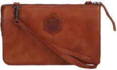 Bear Design Callisto Pelle Clutch cognac Damestas
