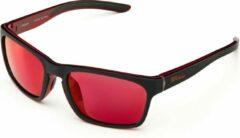 Rode Briko Typhoon Mirror Color HD Sunglasses MT BLACK RED -KRM3 - Maat One size