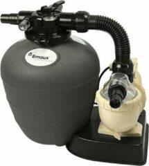 Zwarte 't Steegske Mini Filter Kit - Zwembadfilter met filterpomp en 4-weg kraan - 8 m³/h