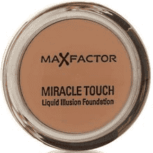 Beige Max Factor Miracle Touch Liquid Illusion - 85 CARAMEL - Foundation