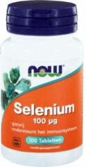Now Foods Now Selenium Gistvrij 100 Mcg Trio (3x 100tab)