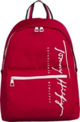 Rode Tommy Hilfiger - TH signature backpack - unisex - primary red