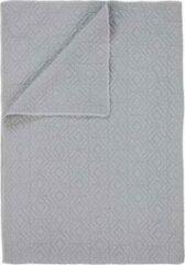 Zilveren Essenza Jenz - Bedsprei - Eenpersoons - 160x200 cm - Silver
