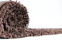 Impression Himalaya Shaggy Hoogpolig Deluxe Vloerkleed Bruin - 80x150 CM