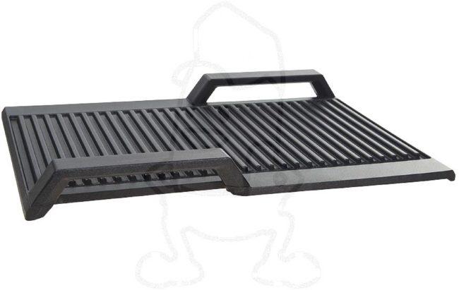 Afbeelding van Bosch/Siemens Grillplaat Geribbeld voor Flexinductie Kookplaten HZ390522