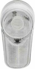 Witte Walfort led-fietskoplamp - Inclusief batterijen