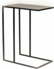 Housevitamin Sofa Bijzettafel-Metaal-Zwart-45x30x60 cm