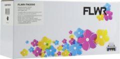 FLWR - Toner / TN-2000 / TN-2005 Zwart - Geschikt voor Brother