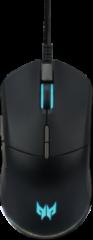 Zwarte Acer Predator Cestus 330 muis Rechtshandig USB Type-A Optisch 16000 DPI