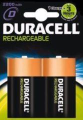 Oplaadbare D batterij (mono) Duracell HR20 NiMH 2200 mAh 1.2 V 2 stuks