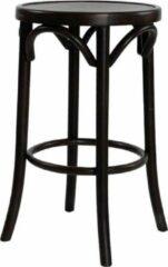 Fameg Diana houten barkruk - 64 cm hoog - Zwart