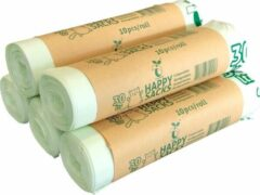 Groene Happy Sacks biozakken 30 liter - 5 rol à 10 stuks