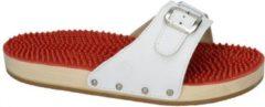 Berkemann -Dames - wit - slippers & muiltjes - maat 40½