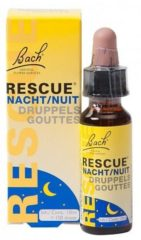 Zwarte Crystal Herbs Bach rescue druppels nacht - 10 ml - Voedingssupplement