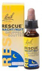 Zwarte Bach rescue druppels nacht - 10 ml - Voedingssupplement