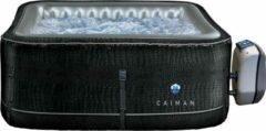 Zwarte NetSpa Cayman- Opblaasbare Jacuzzi- 4 personen-168 x168 x70cm-massage / verwarming / filtratie