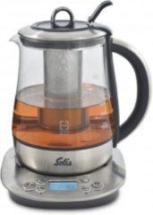Roestvrijstalen Solis Tea Kettle Digital 5515 Waterkoker - Theemaker - 1.2 liter