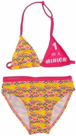Afbeelding van Illumination Entertainment Minions - Bikini - One in a Minion - 3 Jaar - Maat 98 - Roze/Geel