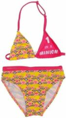 Illumination Entertainment Minions - Bikini - One in a Minion - 3 Jaar - Maat 98 - Roze/Geel