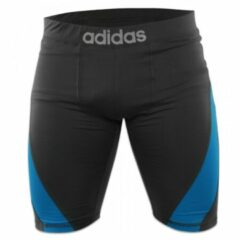 Adidas Training Short Closefit Beluga Zwart - S