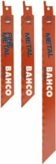 Bahco 3940-METAL-SET-5P Zaagblad-set 3940-METAL-SET-5P 5 stuk(s)