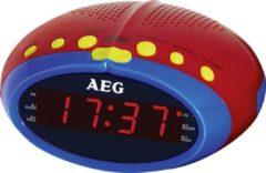 AEG MRC 4143 Kids Line FM Wekkerradio Middengolf, FM Rood, Bont