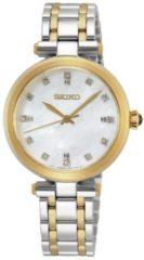 Seiko SRZ532P1 dameshorloge diamant op de wijzerplaat saffierglas 30 mm