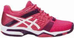 Asics Gel-Blast 7 Sportschoenen - Maat 39.5 - Vrouwen - roze/paars/wit