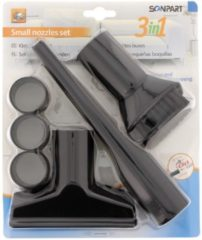 Zwarte Scanpart kleine zuigmonden set - Stofzuigermondstuk