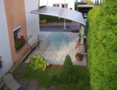 Ximax Portoforte Carport 110 Edelstahl-Look