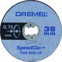 Dremel SpeedClic SC409 dunne snijschijven 5-pack Dremel 2615S409JB Diameter 38 mm 5 stuks