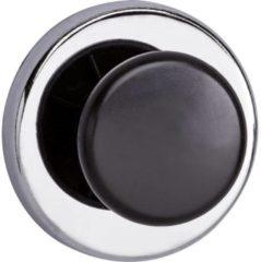 Maul Krachtmagneet (Ã x h) 67 mm x 33 mm rond, met knop Zilver, Zwart 1 stuks 6155096