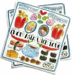 Blond Amsterdam - From Asia with Love - Servetten - Set 20 stuks