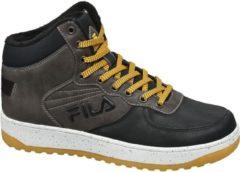 Antraciet-grijze Fila sneakers antraciet/geel