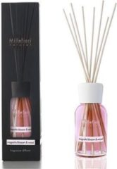 Roze Millefiori Milano Geurstokjes Magnolia Blossom & Wood 100 ml