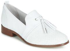 Witte Nette schoenen Regard REVA V1 TRES NAPPA BLANC
