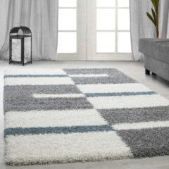 Adana Carpets Hoogpolig vloerkleed - Gala Turquoise 140x200cm