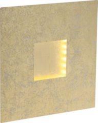 Brilliant Pyramid LED Wandleuchte gold/weiß