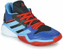 Blauwe Basketbalschoenen adidas HARDEN STEPBACK