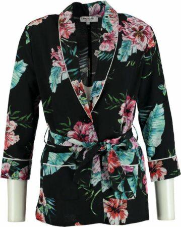 Afbeelding van Morgan soepel polyester blazer jasje 3/4 mouw - Maat 42