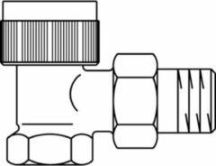 Oventrop Thermostatische radiatorafsluiter A 1/2 haaks Kvs 0,95 m3 h