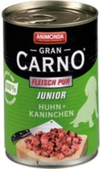 Animonda GranCarno Original Junior - Kip met Rund - 6 x 400 g