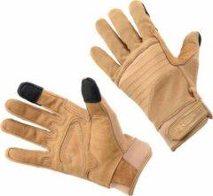 Defcon 5 Handschoenen Nylon/polyester/leer Beige Maat Xs