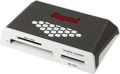 Kingston Technology USB 3.0 High-Speed Media Reader geheugenkaartlezer Grijs, Wit USB 3.2 Gen 1 (3.1 Gen 1)
