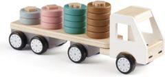 Kid's Concept Vrachtwagen Aiden Junior 38 X 10 X 13 Cm Hout 5-delig